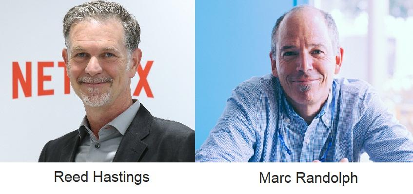 Netflix founders