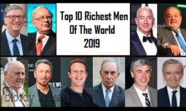 Top 10 Richest Men in The World 2019