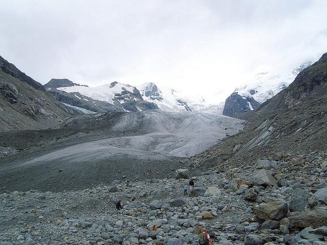 Bhaga Glacier