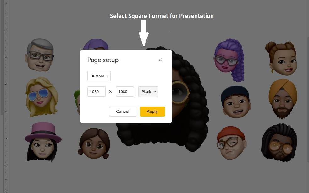 Create Slideshow By Using Google Slides