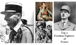 Top 4 Freedom Fighters of France Who Fought for Nation