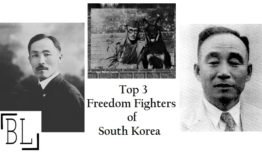 Top 3 South Korean Freedom Fighters