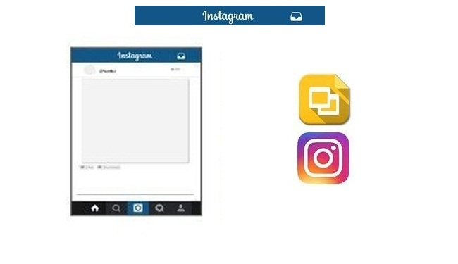 Make Slideshows with Google Slides at Instagram