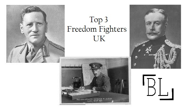 Top 3 Freedom Fighters of UK