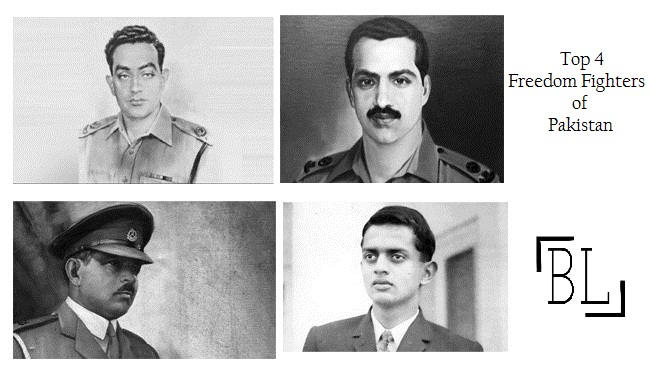 Top 4 Freedom Fighters of Pakistan