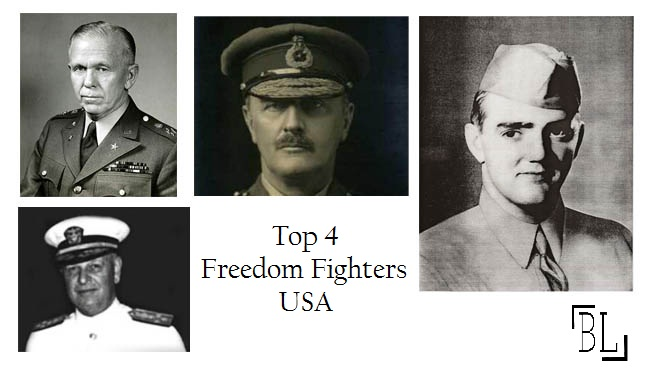 Top 4 Freedom Fighters of USA