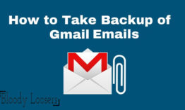How to Take Backup of One Gmail Inbox to Another Gmail Account