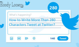 How to Write More Than 280 Characters Tweet at Twitter?