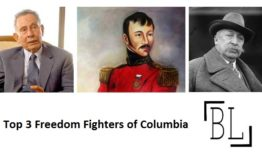 National Leaders of Columbia with Images: Columbian Freedom Fighters