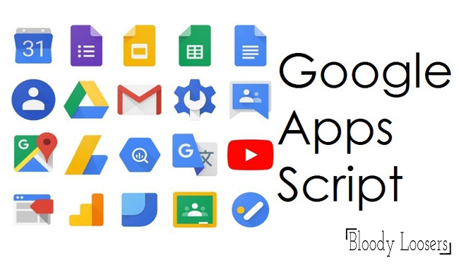 How to Use Applications of Google Script