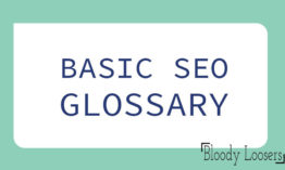 SEO Glossary | Search Engine Optimization Terms for Beginners