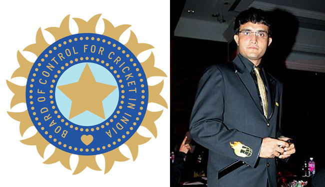 BCCI - Sourav Ganguly - Cricket Board Name with Chairman