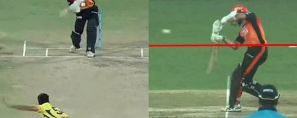 Bowling above the Waist of Batsman - Know No Ball