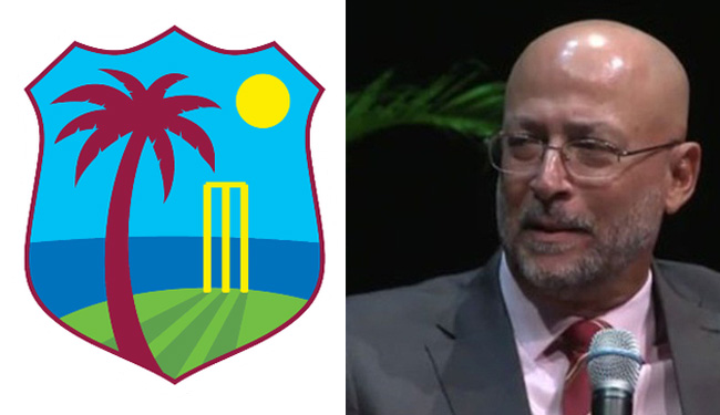 CWI - Mr Richard Skerritt - Cricket Board Name with Chairman