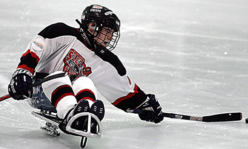 Ice Sledge Hockey - Types of Hockey Game