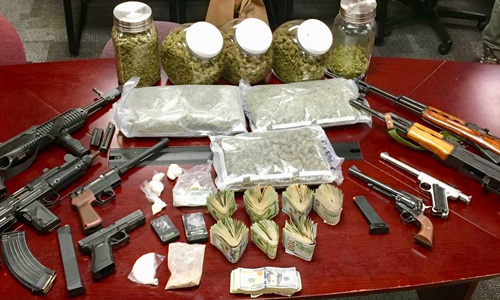 Illegal Drugs & Offensive Weapons - Banned By UK Government