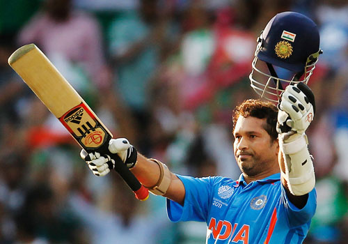 Sachin Tendulkar - Top 10 Male Cricketers of The World