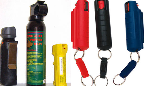 Self Defense Sprays - Banned By UK Government
