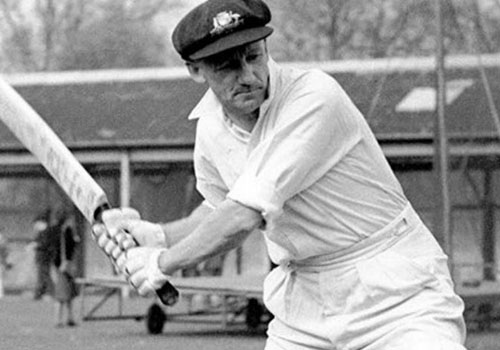 Sir Donald Bradman - Top 10 Male Cricketers of The World