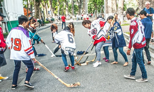 Street Hockey - Types of Hockey Game