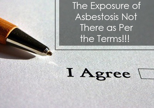 The Exposure of Asbestos is Not There as Per the Terms - Limitations On Mesothelioma Claims in UK