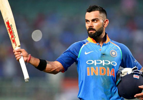 Virat Kohli - Top 10 Male Cricketers of The World