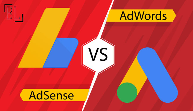 What are The Differences between Google Adwords and Google Adsense