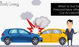 When to Sue for Personal Injury after Car Accident?