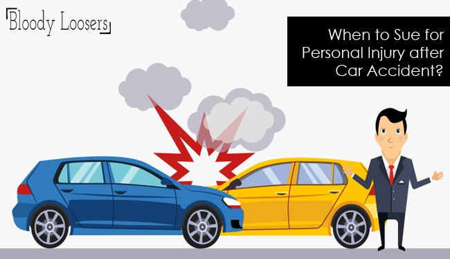 When to Sue for Personal Injury after Car Accident