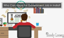 Who Can Apply for Government Job in India?