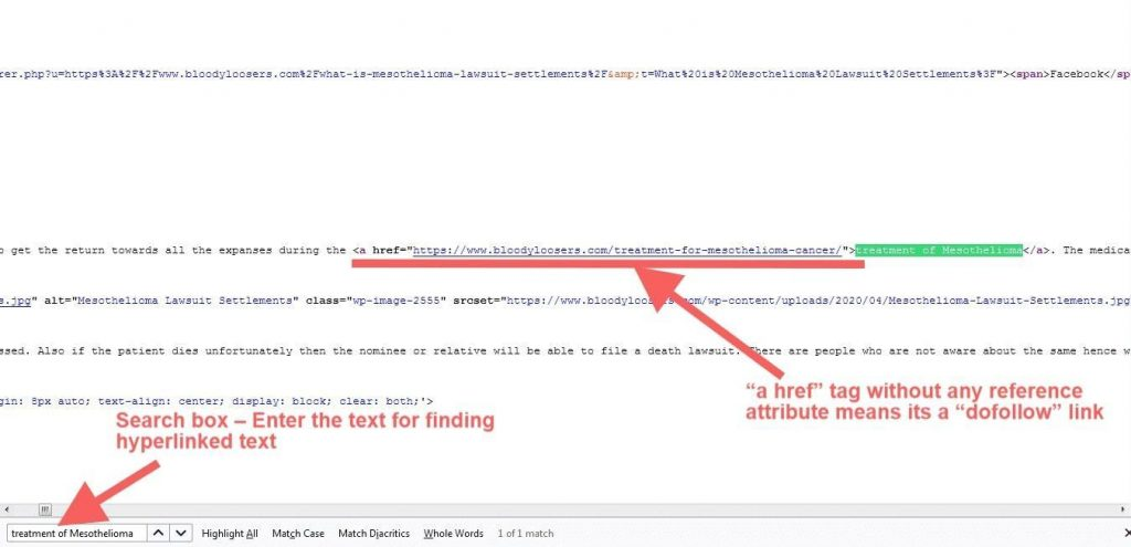 Dofollow Backlink Firefox - Bottom Search Box