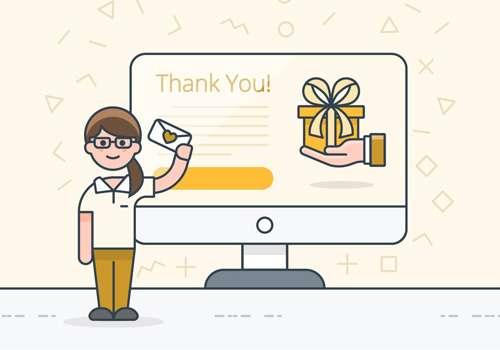Gratitude Message - Thank You Page