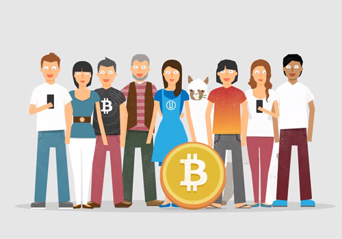 Everybody can Take Part - Bitcoin Marketplace