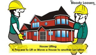 House Lifting - A Process to Lift or Move a House to another Location
