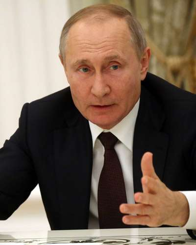 Vladimir Putin - Powerful Political Leaders in the World