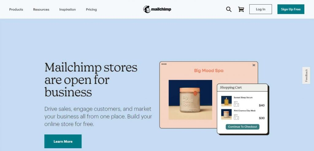 Step 1 - Create an Email List in MailChimp