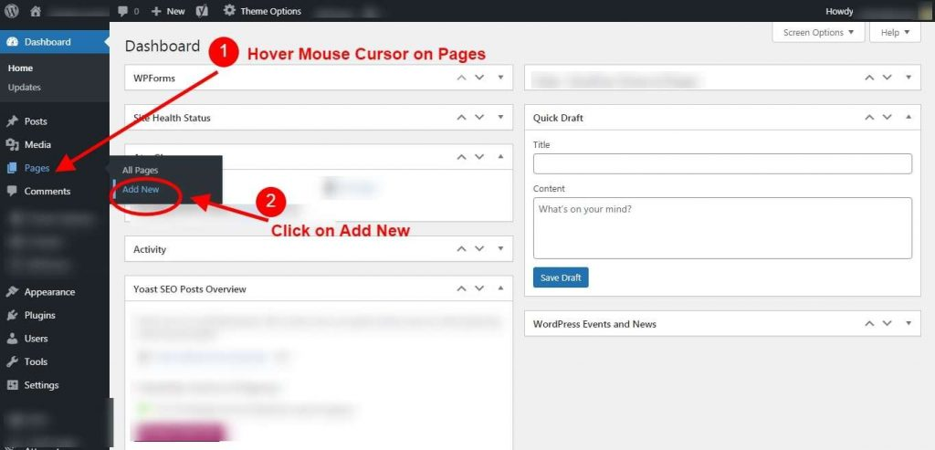 Step 3 - Add New Page - Password Generator Tool